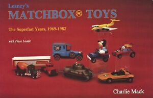 Miniature Matchbox Toys - Tyco Years 1969-1982 - Models / Illust. Book + Values