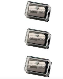 3 x Laura Mercier Eye, Lip & Brow Pencil Sharpener — Made In Germany Lot Set New