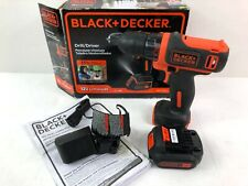 Black and Decker 12V Lithium Drill  BDCD12 AND BATTERY with charger