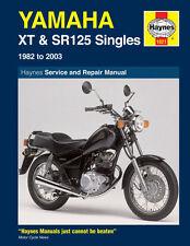1021 Haynes Yamaha XT & SR125 (1982 - 2003) Manual de taller