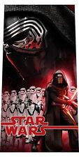 XXL Star Wars VII Badetuch Handtuch Strandtuch Duschtuch Kylo Ren 70 x 140 cm