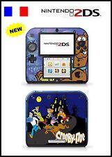 SCOOBY DOO - Vinyl Skin Sticker for Nintendo 2DS - réf 98