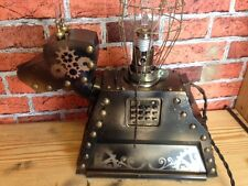 DOCTOR WHO UPCYCLED STEAMPUNK STYLE K9  LAMP SCULPTURE WORLDWIDE DELIVERY