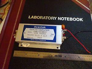 RF MICROWAVE FREQUENCY AMPLIFIER 2 GHz AVANTEK GaAs FET APM-1033 AS IS BIN#X9-95
