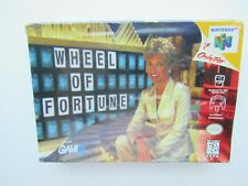 NEW Wheel of Fortune Nintendo 64 N64 OEM NIB Factory Sealed Box NIB NOS Retro #2