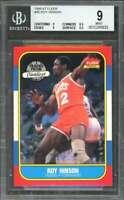 Roy Hinson Card 1986-87 Fleer #46 philadelphia 76ers BGS 9 (9 8.5 9 9.5)
