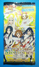 Precious Memories ANIME Booster Pack K-ON!! Part1 [Japan Import] New Sealed RARE