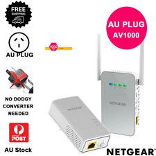 ✔AU PLUG ✔NETGEAR ✔Gigabit Powerline PLW1000v2 Wi-Fi Access Point Range Extender