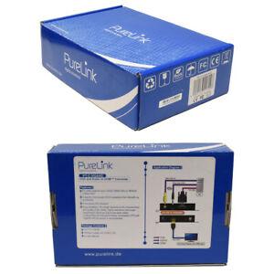 PureLink PT-SC-VGAHD Puretools VGA and Audio to HDMI Converter Scaler new neu