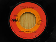 George (Goober) Lindsey 45 96 Miles To Bakersfield bw It's Such   Capitol VG+
