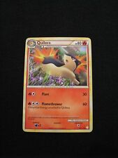 POKEMON CARD Quilava Stage 1 HP80 49/123