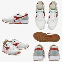 Sneakers scarpe DIADORA HERITAGE N9000 H C SW P/E2019 WHITE/AMERICAN BEAUTY 190€