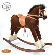 #Beautiful Handmade Rocking Horse TITAN Schaukelpferd cheval à bascule cavallo ´