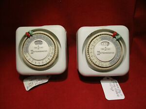 Intermatic Time-All TN111 Christmas Lamp Timers 15A 1750W 125VAC 60Hz Lot of 2