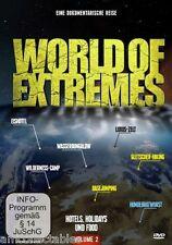 DVD - WORLD OF EXTREMES VOL. - DIE BESTEN HOTELS URLAUB & ESSEN EXTREM - NEU/OVP