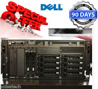 Dell PowerEdge 2900 II Server 2 x QUADCORE X5355 2.66GHz 32GB RAM 4x146GB 15K HD