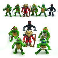 6 TMNT Teenage Mutant Ninja Turtles Action Figure Doll Kid Cake Topper Decor Toy