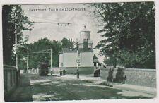 Suffolk postcard - Lowestoft, The High Lighthouse