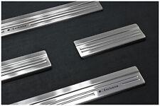 Edelstahl Exclusive Einstiegsleisten für Honda CIVIC 9 IX ab Bj. 2012-