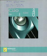 Renault Clio 2004-05 UK Market Sales Brochure