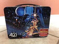 MegaCon 2017 Star Wars 40th Anniversary Tin Lunch Box