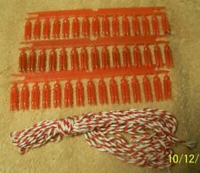 NEW Red Clothes Line & Clothes Pins for Doll Clothes
