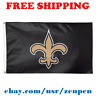 Deluxe New Orleans Saints Team Logo Flag Banner 3x5 ft NFL Football 2019 NEW