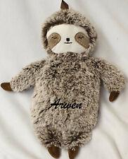 Sloth Puppy Koala bear hot water bottle personalised plain girl ladies Xmas gift