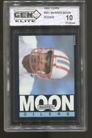 1985 Warren Moon Topps #251 RC Rookie Gem Elite 10 Pristine Houston Oilers