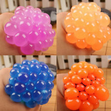 Squishy Mesh Ball Squeeze Toy Grape Anti Stress Relief  Abreaction Sensory