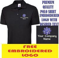 Personalised Mechanical Engineering Logo Embroidered Polo Shirt Mechanic LOGO