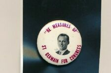 "Fernand St Germain for US Congress 1 1/4"" cello Rhode Island RI campaign button"