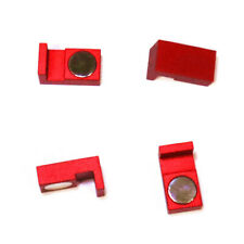 Magnetic Parallel Keepers, Holders. Vise, CNC,Kurt,Machinist Tools Red