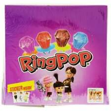 Bazooka Ring Pops Lolly Push Pop Retro Candy Wholesale Sweets 24 Gifts
