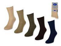20 Paar Herrensocken 100% Baumwolle ohne Naht Business Herren Socken Beige Braun
