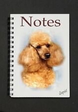 Poodle (Apricot) Dog Notebook / Notepad By Starprint