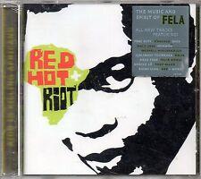 RED HOT + RIOT - THE MUSIC AND SPIRIT OF FELA KUTI - CD NUOVO SIGILLATO RARO