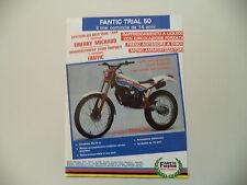 advertising Pubblicità 1986 MOTO FANTIC TRIAL 50 PROGRESS 1