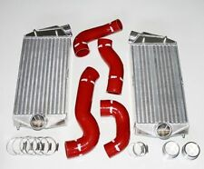 Porsche 01-09 996 997 Turbo GT2 Forge Big Intercooler Kit With Silicone Hose Kit