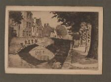 Bruges 'Le pont du cheval'   vintage Art postcard Q.232