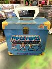 Masters of the Universe He-Man 45 Record Tote Carrying Case MOTU 1984 Vinyl Rare