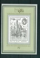 GB 1980 International Stamp Exhibition Mini Sheet. MNH. Sg MS1119.