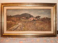 Dipinto olio su tela del pittore Bruno Linucci