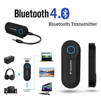 USB Bluetooth Stereo Audio Transmitter 3.5mm Music Dongle Adapter For TV PC JR
