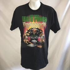 Five Finger Death Punch And Papa Roach Concert 2015 Black T Shirt Medium B5