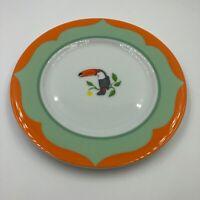 Lynn Chase MONKEY BUSINESS Toucan Bread & Butter Plate