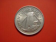 Barbados 25 Cents , 2011, Morgan Lewis Sugar Mill,
