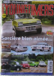 Youngtimers magazine N°89 Juil 2018 Renault 5/Mercedes SL/Mini moke/Alfa Arna