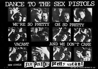 Sex Pistols' Pretty Vacant The Single' Poster Reproduction