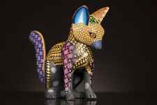 ALEBRIJE by HERNANDEZ wood carving crafted &  painted in Oaxaca, folk art.